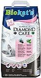 Biokat's Diamond Care Katzenstreu – Hochwertige Klumpstreu für Katzen mit Aktivkohle und Aloe Vera – 1 Papierbeutel (1 x 10 L)
