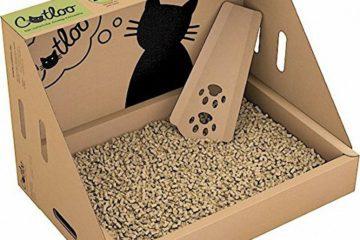 Die Einweg-Katzentoilette