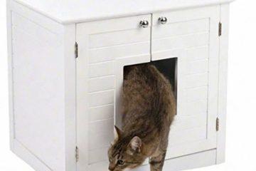 Die Katzentoilette im Schrank