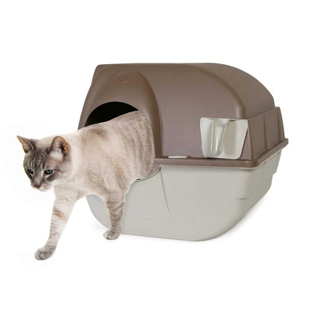 Omega Paw Roll'n Clean selbstreinigende Katzentoilette – Test und Erfahrungen