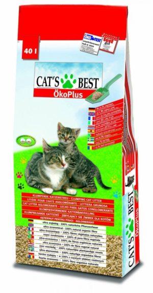 Hochweriges Katzenstreu - biologisch abbaubar