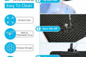 Focuspet Katzenklo Vorleger: Einfach zu reinigen
