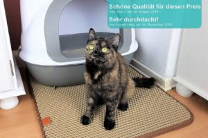 Pfotenolymp® Premium Katzenklo Unterlage - Katzenmatte